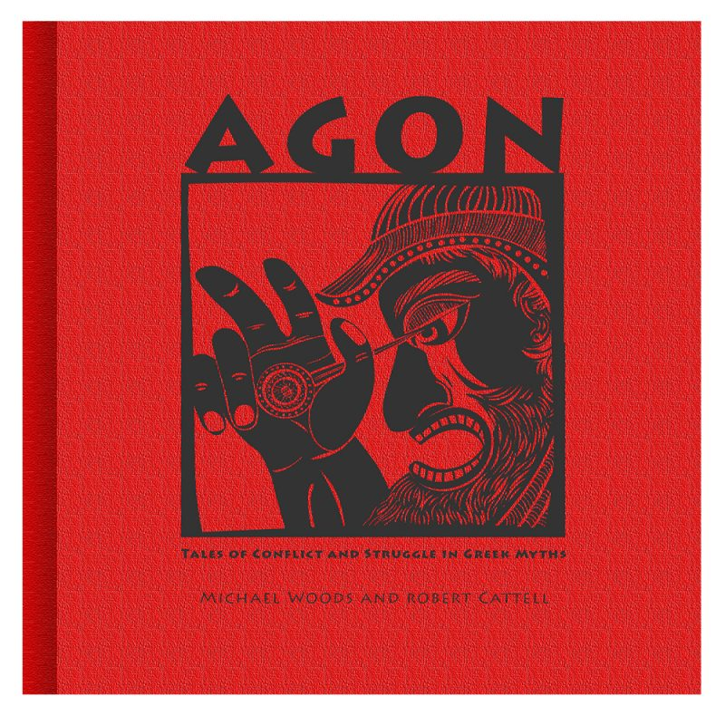 shop of art AGON front cover